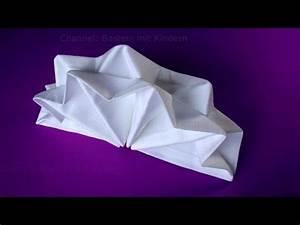 Servietten Falten Stern : papier falten origami blume falten basteln ideen g doovi ~ Markanthonyermac.com Haus und Dekorationen