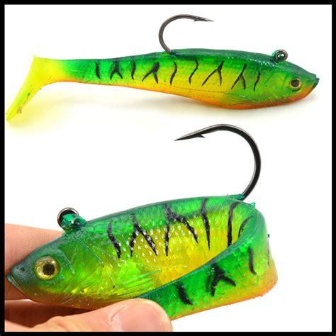 bait fishing lure grouper catfish artificial bass soft swimbait lures killer lifelike 4pcs silicone buddy
