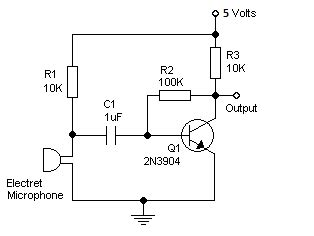 Audio Can Use Pnp Transistor With Electret