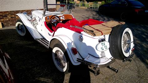 """Example is a mustang / pinto 4 cylinder engine , automatic trans. 1929 Mercedes-Benz SSK Roadster Replica """"Gazelle"""" 7.5.2016 - YouTube"""