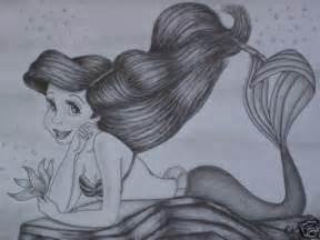 Little Mermaid Ariel Drawing