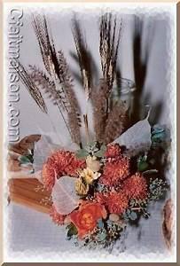 Composition Fleurs Séchées : d coration de salle et de tables sur le th me de la boulange du bl au pain ~ Teatrodelosmanantiales.com Idées de Décoration