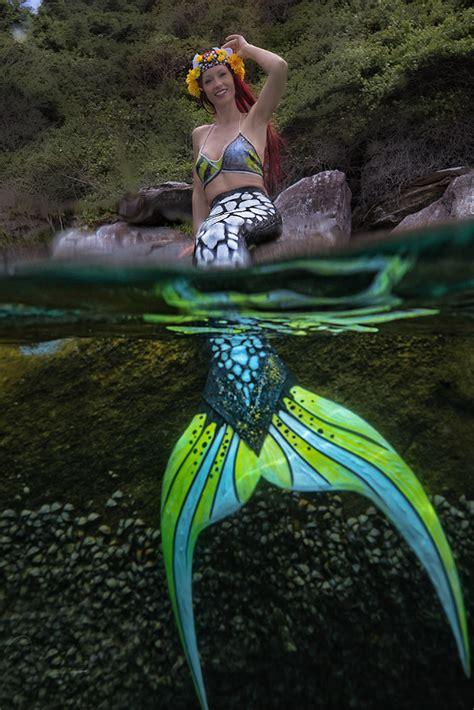 meerjungfrauenflosse aus silikon mit fischhaut guenstig kaufen