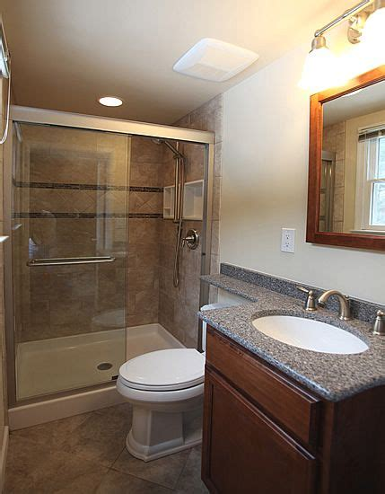 Small Bathrooms Remodeled by Rancher Remodel Before And After Bathroom Shower