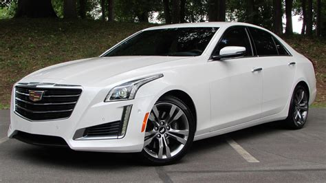 2015 Cadillac Cts V-sport Start Up, Road Test, And In