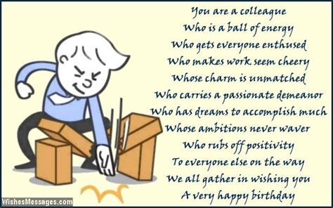 birthday poems  colleagues page  wishesmessagescom