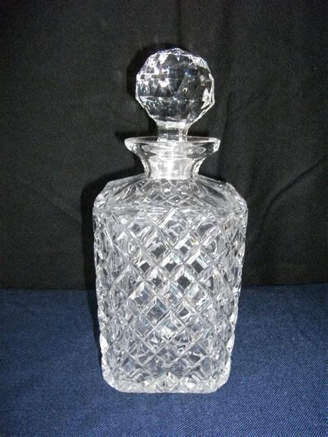 antiques atlas cut glass whisky decanter