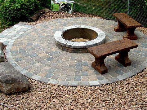 paver pit designs pit design ideas
