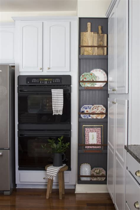 build  modern farmhouse plate rack love  abode