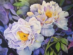 Blumen Bilder Gemalt : pfingstrosen nach vorlage aus dem heft freude am malen blumen pfingtsrosen aquarell ~ Orissabook.com Haus und Dekorationen