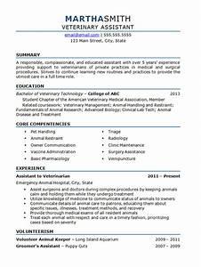 Animal Care Resume Cv Template Veterinary Student Resume Examples Job