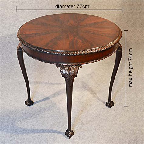 small antique side tables chippendale tea side table mahogany 5346