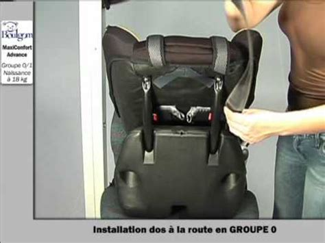 comment attacher siege auto installation du maxiconfort siège auto groupe 0 1 boulgom