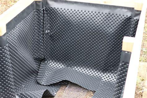 noppenbahn richtig anbringen einfaches hochbeet selbst bauen teil 1 parzelle94 de