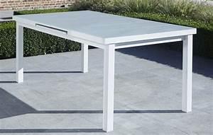 Table De Jardin Blanche : catgorie table de jardin du guide et comparateur d 39 achat ~ Teatrodelosmanantiales.com Idées de Décoration