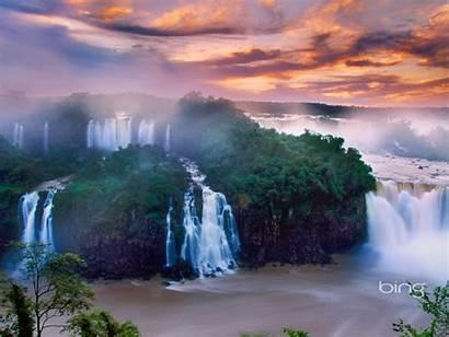 Bing Waterfalls Widescreen Spectacular Wallpapers 10wallpaper
