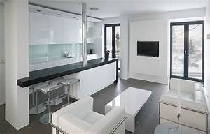 modern studio apartment in reykjavik With kitchen cabinet trends 2018 combined with james bond wall art