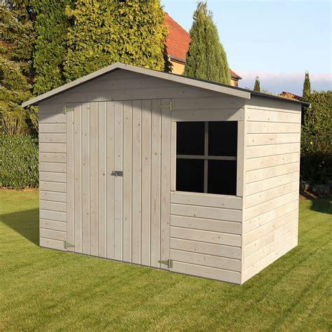 abri de jardin bois avec plancher 5 29 m 178 ep 12 mm loguec