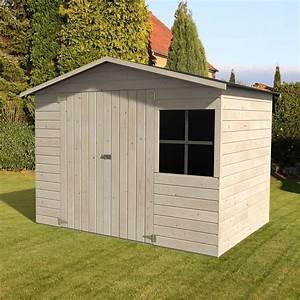 Abri De Bois : abri de jardin bois avec plancher m mm loguec ~ Melissatoandfro.com Idées de Décoration