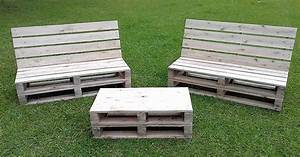 Wood Pallet Furniture Ideas, Plans and DIY Projects