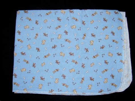 Blue Carters Brown Puppy Dog Flannel Cotton Bones Paw Print Receiving Blanket Baby Fleece Blanket Tutorial Weights Of Horse Blankets Eleanor Pritchard Welsh Walton Soft Knit Beautiful To Joann Fabrics Weighted Diy Crochet Ripple Easy