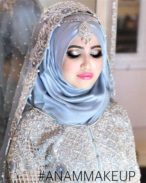 pin  immarahim  hijab wedding bridal hijab styles