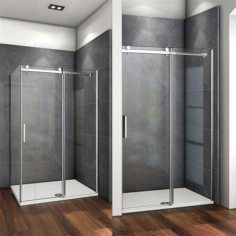 cm duschabtrennung schiebetuer duschkabine esg echtglas