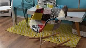 Tapis jaune du soleil dans la deco westwing for Tapis jaune avec canapé avec grande assise