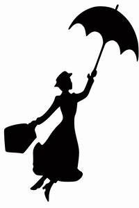 Free: Mary Poppins Silhouette Decal - Accessories - Listia ...