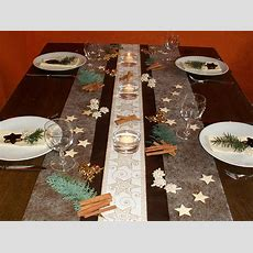Tischdekoration Weihnachten 8  Tischdeko Weihnachten