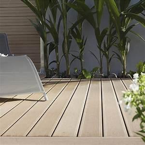 Lame Composite Pour Terrasse Leroy Merlin : lames de terrasse en bois composite leroy merlin ~ Zukunftsfamilie.com Idées de Décoration