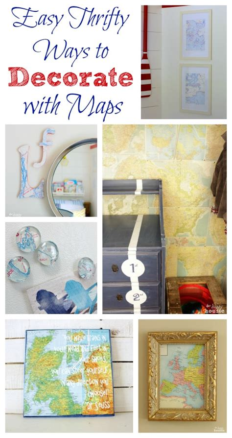 Nautical Chart Art And Easy Ways To Decorate With Maps