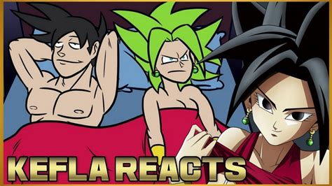 kefla reacts  kefla payback dragon ball super parody