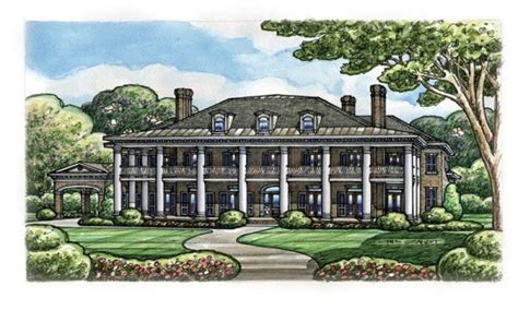 southern plantation home plans colonial plantation house plans historic southern