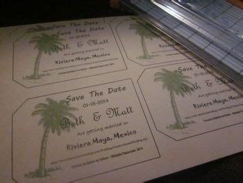 diy luggage tag save the date with template wedding