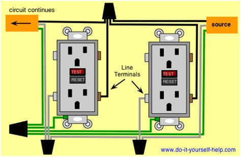 Electrical Wiring Diagram Light Deck by Basic Electrical Wiring Diagrams Deck Lights Outlets