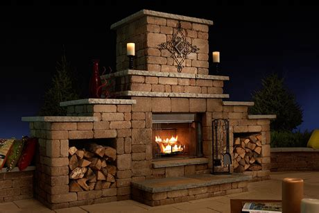 Outdoor Fireplaces | Basalite