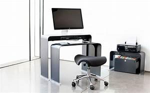 Bureau Informatique Design : onelessdesk bureau ultra fin en m tal ~ Teatrodelosmanantiales.com Idées de Décoration