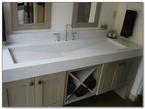 double trough sink bathroom vanity double trough sink vanity sinks and faucets home