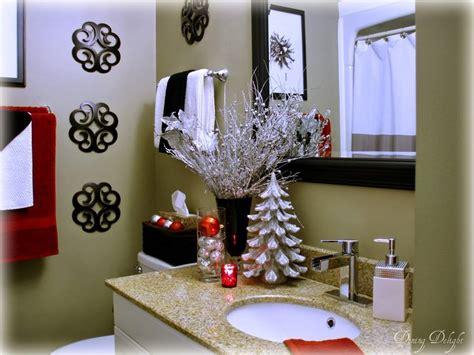 como decorar el bano en navidad
