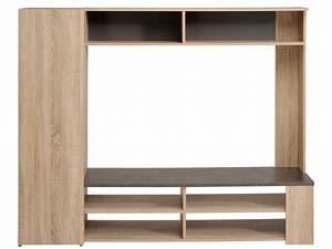 Meuble Tv Led Conforama : meuble tv fumay vente de meuble tv conforama ~ Dailycaller-alerts.com Idées de Décoration