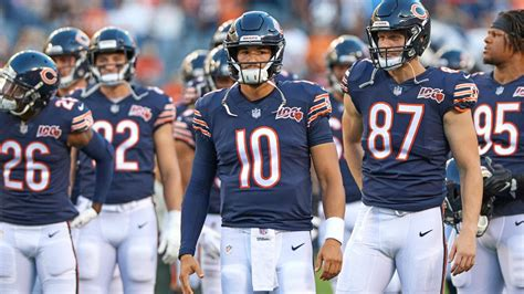 bears rookie  convinced mitch trubisky  ascend  year