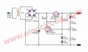 2n3055 Using Ic 5 Volt Linear Power Supply Regulator