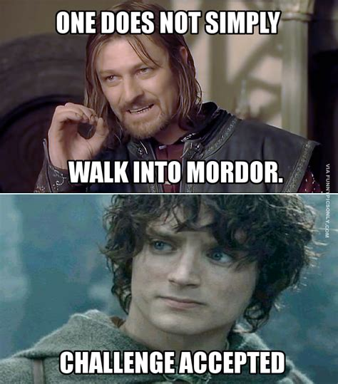things only the lord of the rings fans will find funny funnypicsonly