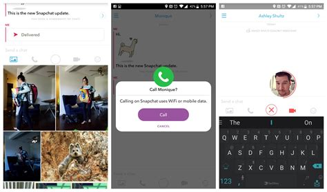 android snapchat update snapchat s chat 2 0 update brings robust new messaging