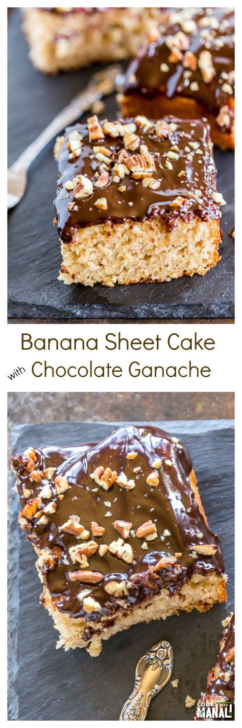 banana sheet cake banana sheet cake cook with manali
