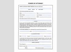 free download power attorney form