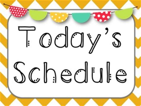schedule clipart free batterberry g our schedule