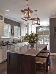 cool look kitchen like the wall color back splash tile With kitchen colors with white cabinets with four seasons wall art