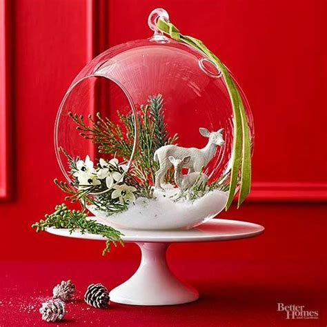 easy   christmas centerpieces  homes gardens